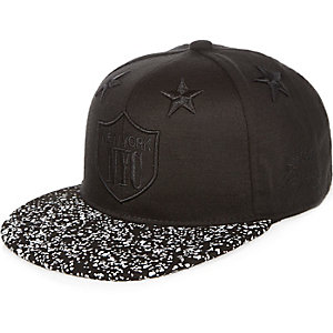 Boys black NYC all star cap