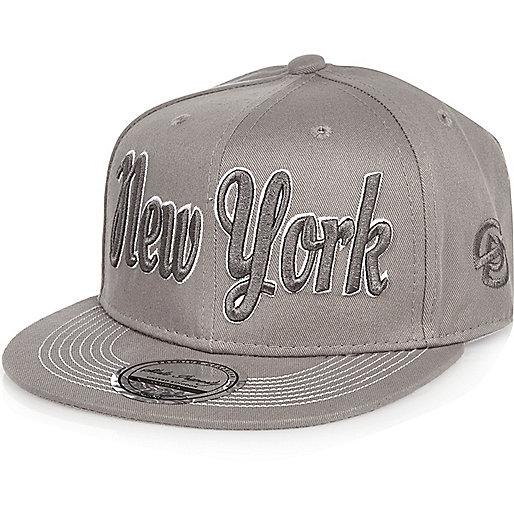 Boys grey NYC cap
