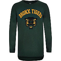 T-Shirt mit Bronx-Motiv