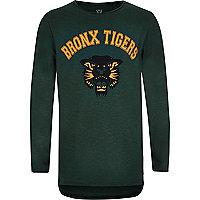 Boys Bronx print T-shirt