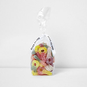 Multicoloured fizzy dummy sweets
