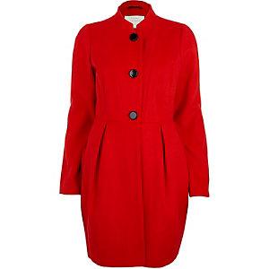 Red tulip coat