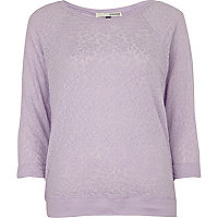 Light purple lace top