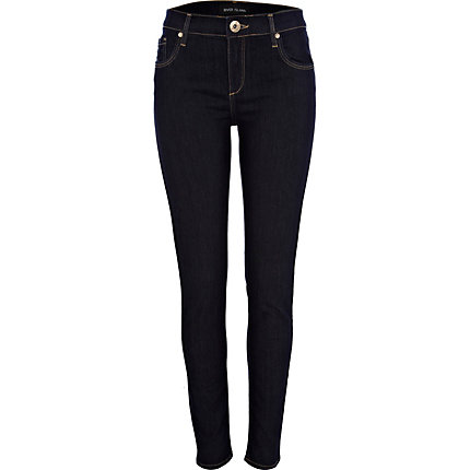 Dark wash Amelie superskinny jeans