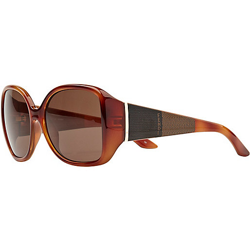 Brown print fendi sunglasses