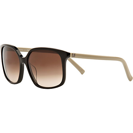 Black fendi logo sunglasses