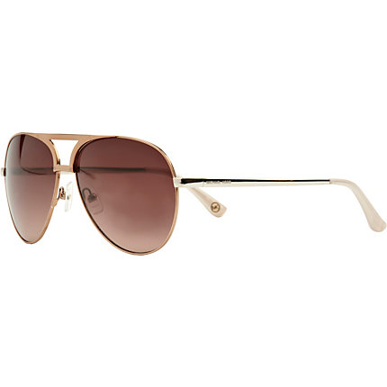 Pink michael kors aviator sunglasses