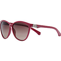 Pink calvin klein jeans cat eye sunglasses