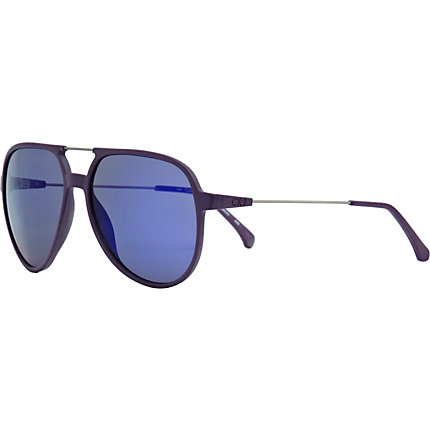 Purple calvin klein jeans aviator sunglasses