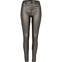 Grey gunmetal Molly jeggings