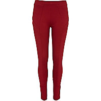 Red ponti legging