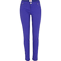 Bright blue super skinny Amelie jeans