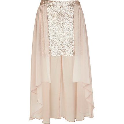 light pink sequin maxi skirt skirts sale