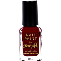 Raspberry Barry M nail varnish