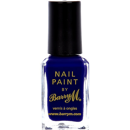 Indigo Barry M nail varnish