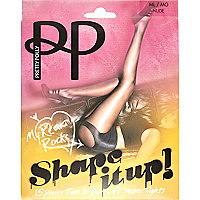 Beige Pretty Polly bum and tum shaper tights