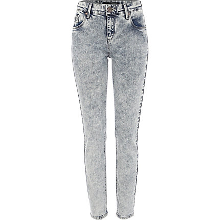 Acid wash Amelie superskinny jeans