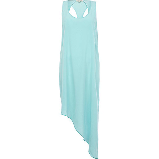 Aqua asymmetric cut out vest dress