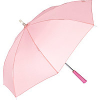 Pink long handle umbrella