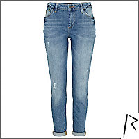 Authentic wash Rihanna slim jeans
