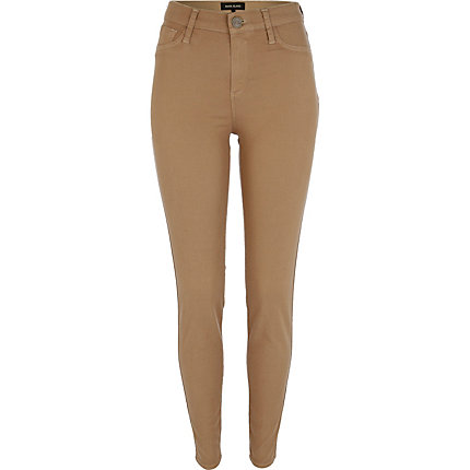 Beige Molly jeggings