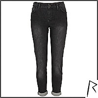 Black wash Rihanna slim jeans