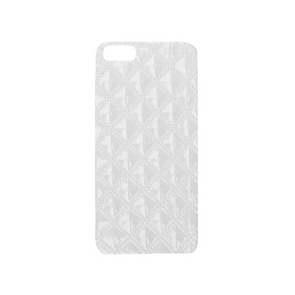 Cream quilted iPhone 5 case
