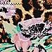 Brown floral leopard print bikini bottoms