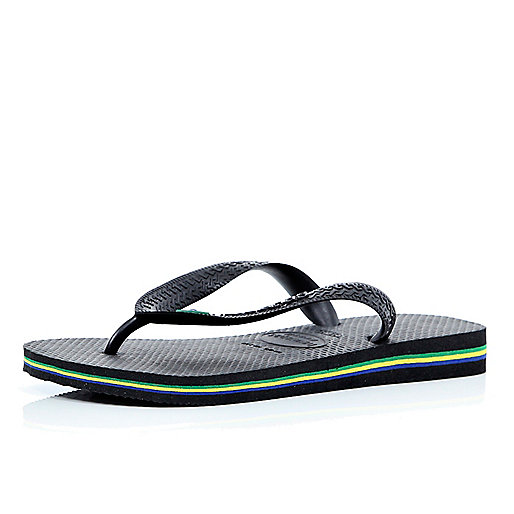 Black layered sole Havaianas