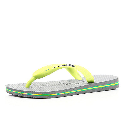 Grey layered sole Havaianas