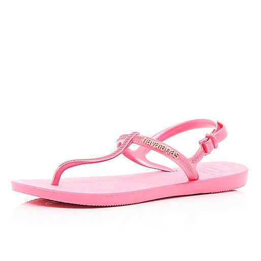 Pink toe post sandal Havaianas