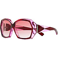 Red Jeepers Peepers oversized sunglasses