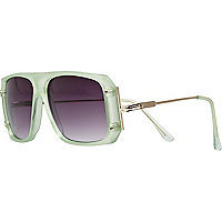 Aqua Jeepers Peepers oversized sunglasses