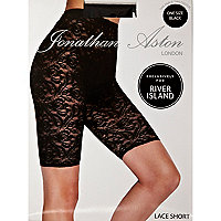 Black Jonathan Aston lace shorts