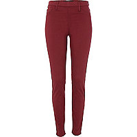 Red flat front Molly jeggings