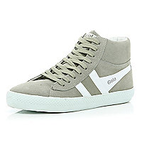 Grey Gola high tops