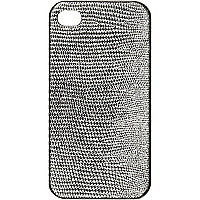 Grey glitter iPhone 4/4S case