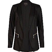 Black formal tux blazer