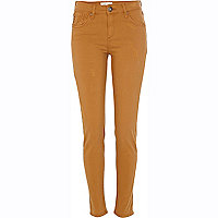 Light brown Amelie superskinny jeans