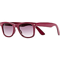 Purple retro sunglasses
