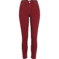 Red Lana superskinny ankle grazer jeans