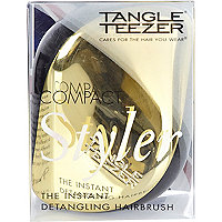 Gold Tangle Teezer detangling hairbrush