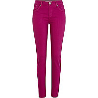 Dark pink Amelie superskinny jeans