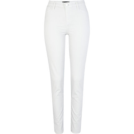 Black and white two tone Molly jeggings