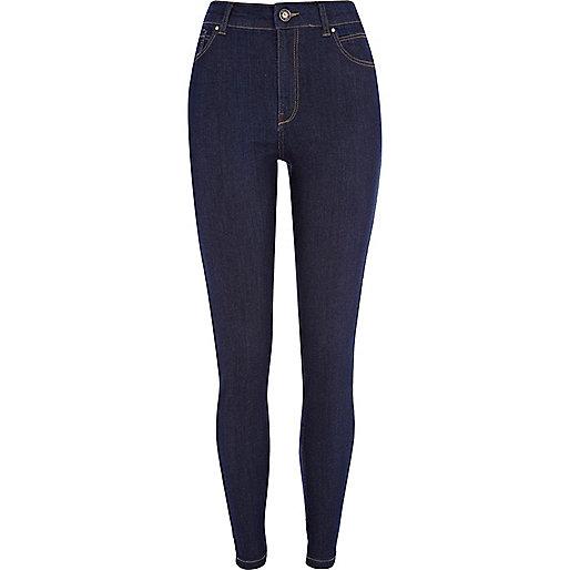 Dark wash Lana superskinny jeans