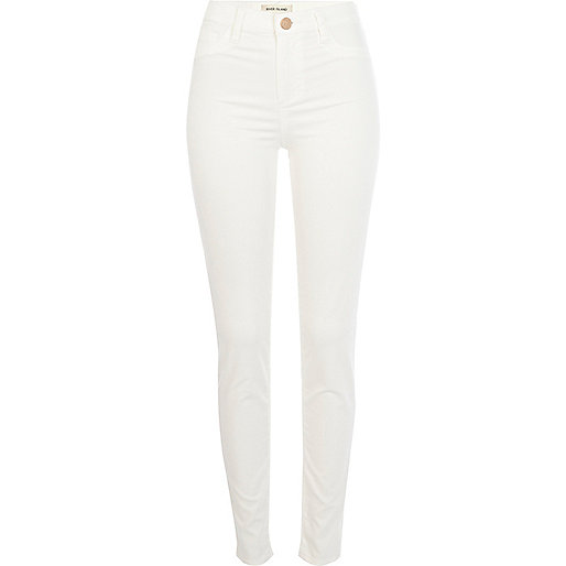 White Molly jeggings