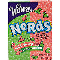 Wild Cherry and Watermelon Nerds sweets