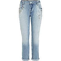 Light wash Lexie slim boyfriend jeans