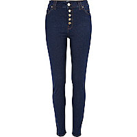 Dark wash Etta superskinny jeans