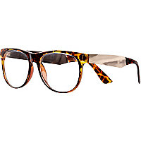 Brown tortoise shell Jeepers Peepers glasses